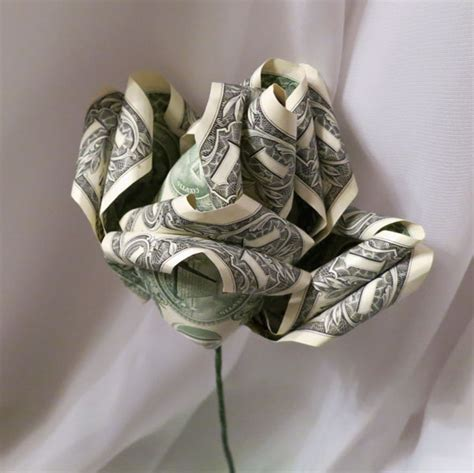 How To Make Money Origami Flower - money origami