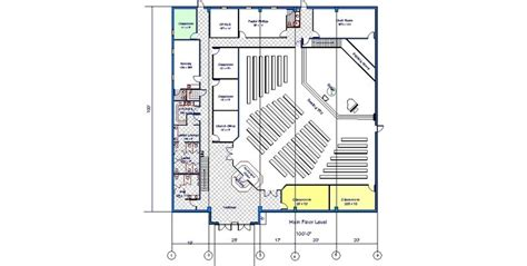 church floor plans online metal church floor plans church design general steel