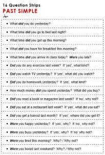 past tense questions worksheet past simple verb to be questions exercises past simple tense1000 images about tenses on