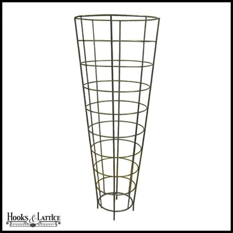 cone trellis cone trellis create conical garden that grows hooks