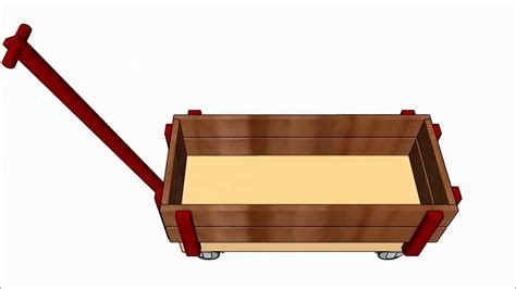wooden wagon plans youtube