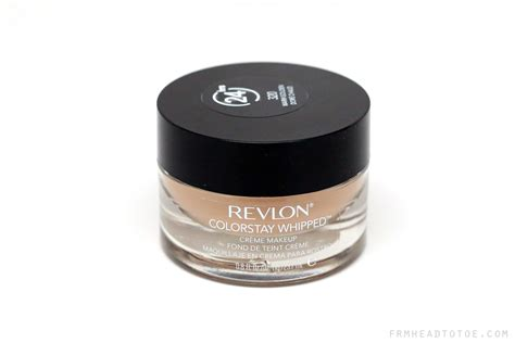 review revlon colorstay foundation from to toe