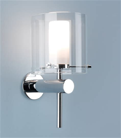 ax0342 arezzo 0342 bathroom wall light ip44 polished