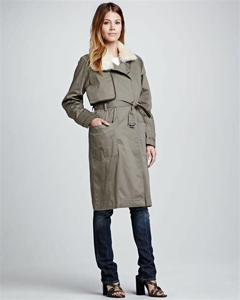 vince shearling coat lookup beforebuying