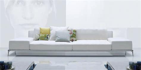 white 3 seater sofa italian leather sofa elegance by calia maddalena