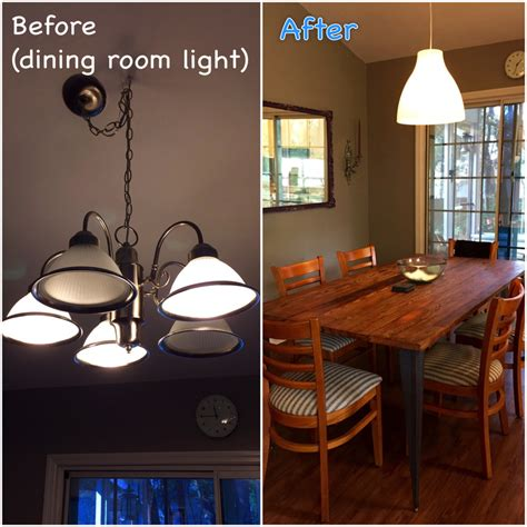 Ikea Dining Room Lighting Projects