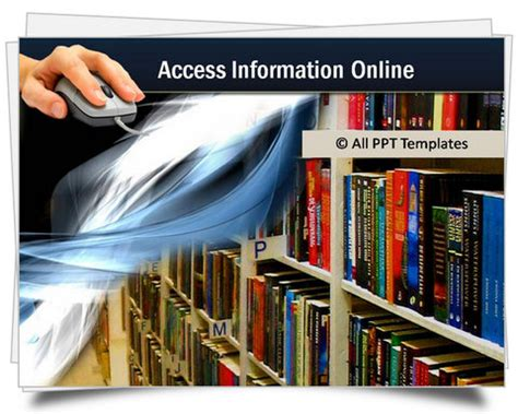 library powerpoint template powerpoint technology templates