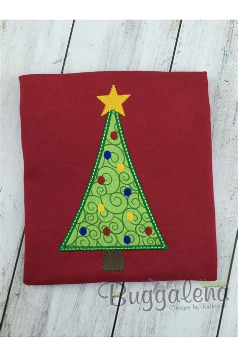 Embroidery Applique Design by Tree Applique Embroidery Design