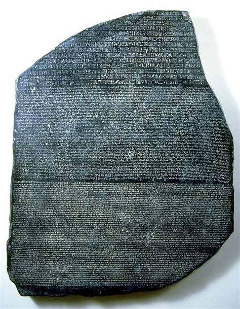 rosetta stone deciphered egyptian civilization writing hieroglyphs
