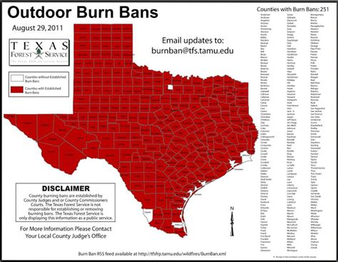 burn ban map texas forest service texas forest service burn ban map