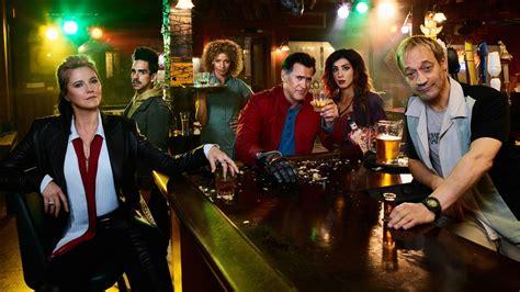 ash  evil dead starz releases season  premiere early canceled renewed tv shows tv