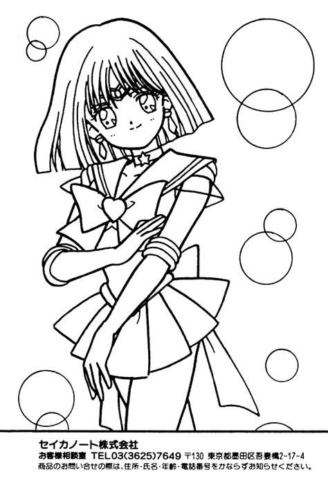 sailor moon sailor coloring book chic pixel