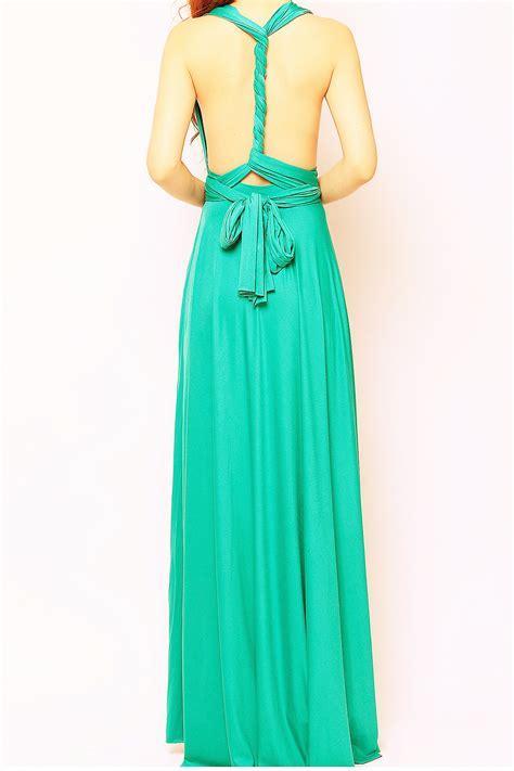 teal infinity dress teal green maxi infinity dress lg 34 73 80 infinity