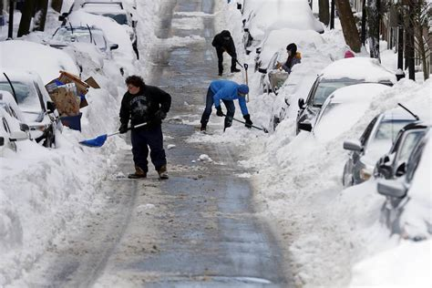 worst blizzard ever blizzard 2015 new england digs out after monster snow and