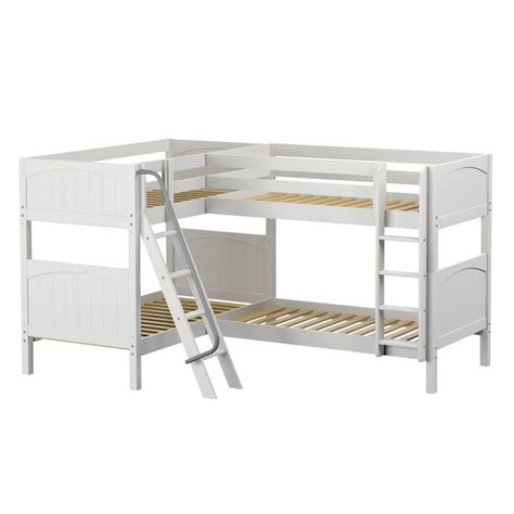 Panel Beds For Sale by Maxtrixkids Quattro Wp High Corner Bunk W Ladders