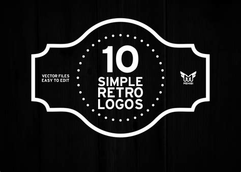 Kaos Keren Logo American Record simple retro logo graphics on creative market
