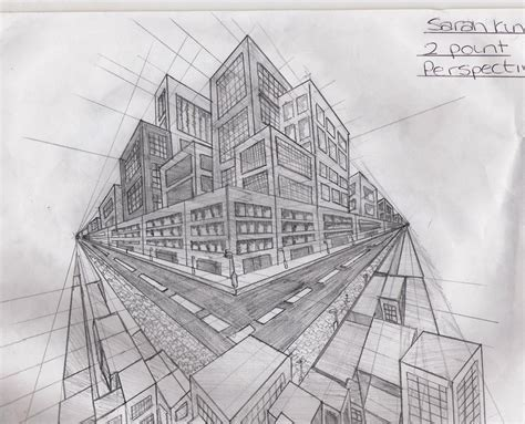 Drawing 2 Point Perspective Buildings by 2 Point Perspective Buildings By Xxxxxsvkxxxxx On Deviantart