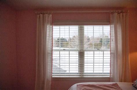 diy pom pom curtains diy pom pom trim curtains