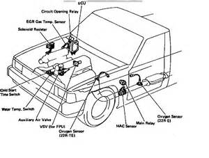 1994 Camry Fuel Pump Circuit Diagram 85 Toyota 4 Runner Efi Wiring Diagram Get Free Image