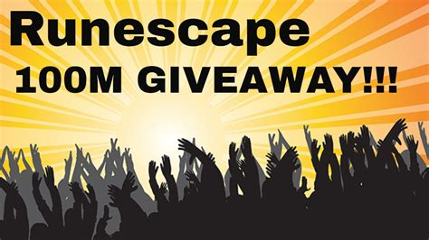 Runescape Giveaways - runescape xmas ny giveaway of 100m youtube