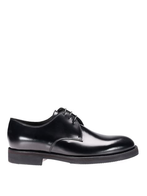 black calf leather oxford shoes by barrett lace ups