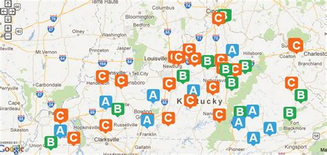 kentucky hospitals map louisville hospitals not as safe as in appalachia