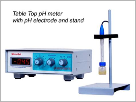 Table Top Ph Meter Manufacturers Suppliers And Exporter