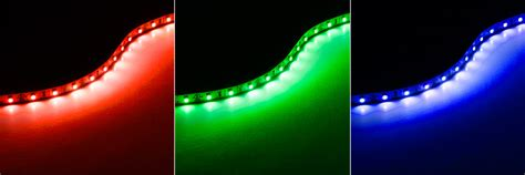 green led light strips universal led lighting kit nfls x165x3 kit