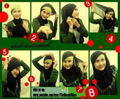 tutorial jilbab indah nevertari tutorial jilbab untuk hijaber indonesia tutorial jilbab