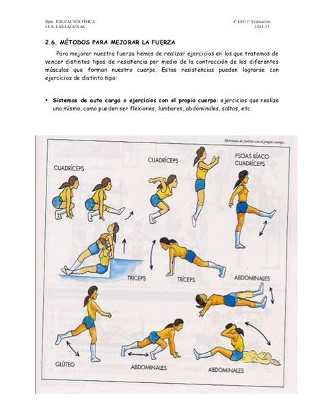 ejercicios de educacion fisica newhairstylesformen2014 com ejemplos de ejercicios en educacion fisica condicion