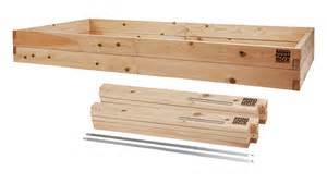4x8x11 raised garden bed kit minifarmbox