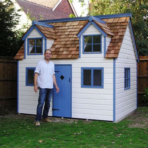 how to build your own house wooden wendy house plan singular how to build your own