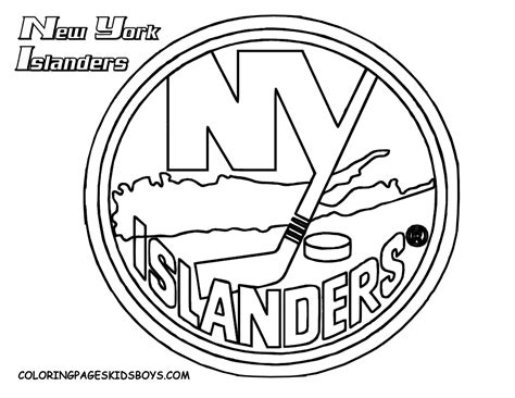 logo coloring pages free nhl logo coloring pages