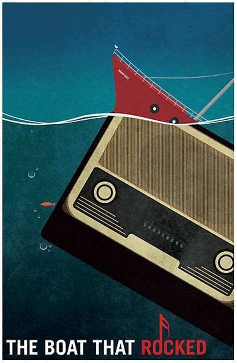 movie radio boat england minimalist movie poster the boat that rocked movie poster