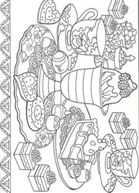dessert coloring pages desserts book coloring pages