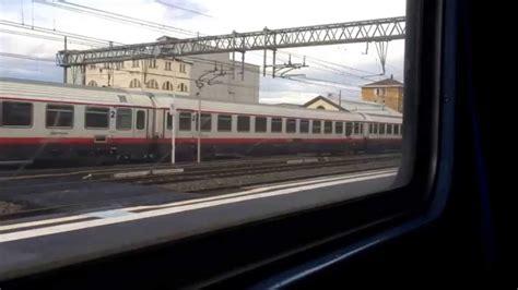 pavia treno partenza frecciabianca da vercelli vista dal treno per