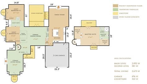 mission floor plans 4 sw mission 13th carmel luxury home for sale