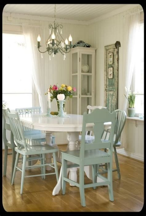 Different Color Dining Chairs Different Dining Chairs Painted The Same Color New House Inspiration Pinterest Avocado
