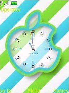 themes swf clock download swf analog clock nokia theme mobile toones