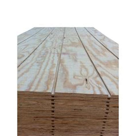 Shiplap Sheathing shop pine siding shiplap plywood common 5 8 x 4 ft x 8 ft actual 0 625 in x 48 in x 96 in