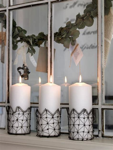 inspiracion navidad decoracion  velas ideas casas