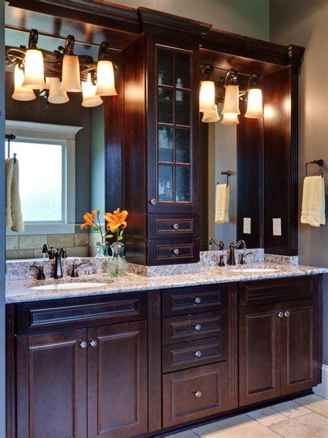bathroom double vanity cabinet  sinks design
