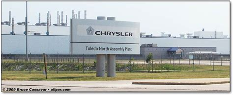 Jeep Corporate Office Toledo Assembly Plants And Supplier Park Jeep And Dodge
