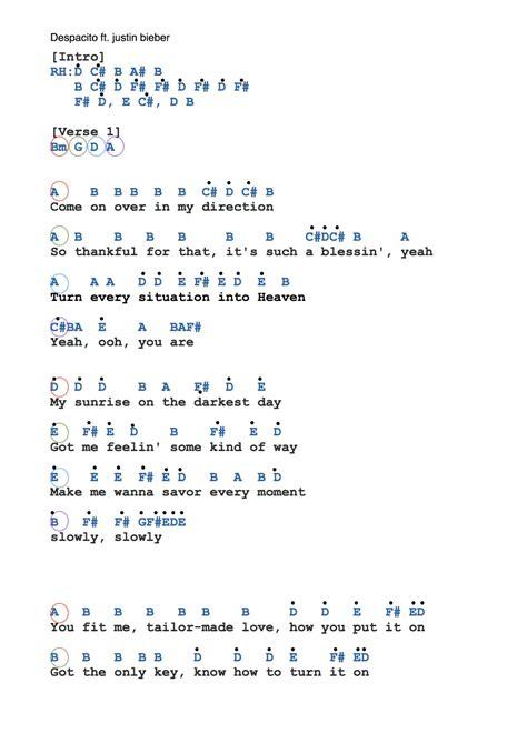 despacito lyrics az lyrics of justin bieber az lyrics