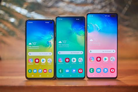 Samsung Galaxy S10 6 1 by New Galaxy S10 Phones Bring It 4 Rear Cameras 1tb Of Storage In Screen Fingerprint Scanner