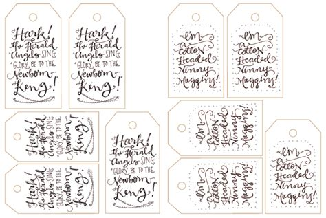 free printable gift tags online lostbumblebee sharing the love