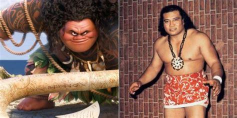 maui  moana partially modeled  grandfather