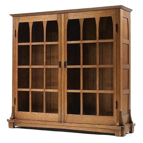 stickley bookcase for sale gustav stickley an important and rare bookcase model no