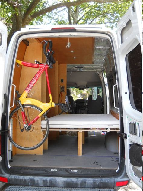 vans with beds bike mount inside the sprinter page 2 sprinter forum