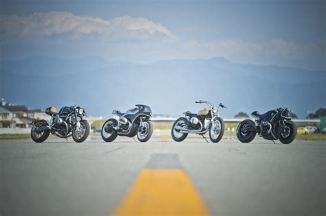 Motorradmesse Japan by Bmw Motorrad R Ninet Customized By Four Expert Japanese Tuners